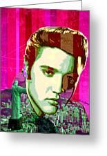 Elvis In Rio Greeting Card