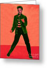 Elvis Is In The House 20130215m40 Greeting Card by Wingsdomain Art and Photography