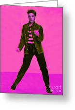 Elvis Is In The House 20130215m88 Greeting Card by Wingsdomain Art and Photography