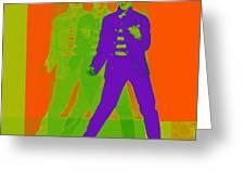 Elvis Jail House Rock 20130215m28 Greeting Card