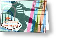 Elvis Jailhouse Rock Greeting Card