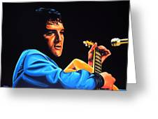 Elvis Presley 2 Painting Greeting Card