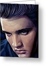 Elvis Presley Artwork 2 Greeting Card