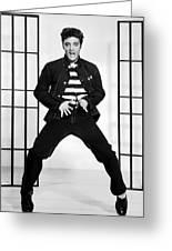 Elvis Presley In Jailhouse Rock 1957 Greeting Card