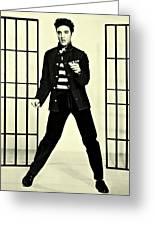 Elvis Presley Jailhouse Rock Greeting Card