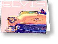 Elvis Presley Pink Cadillac Greeting Card