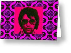 Elvis Presley Window M88 Greeting Card