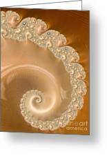 Embellished Blond Wood Greeting Card