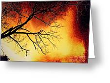 Ember Bough Greeting Card