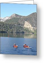 Emerald Bay And Classics Greeting Card