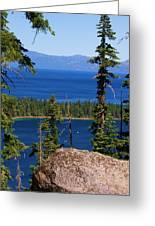 Emerald Bay -lake Tahoe Greeting Card