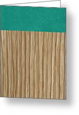 Emerald Cashmere Greeting Card by Margaret Ivory