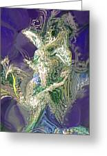 Emerald Elemental Greeting Card