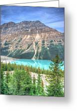 Peyto Lake 7 Greeting Card