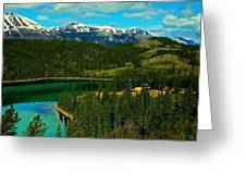 Emerald Lake - Yukon Greeting Card