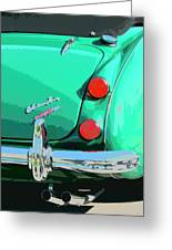 Emerald Palm Springs Greeting Card