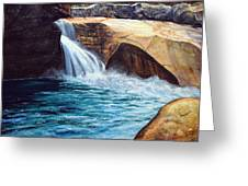Emerald Pool Greeting Card
