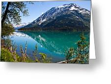 Emerald Reflections  Greeting Card by Chris Heitstuman