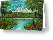 Emerald Valley Greeting Card