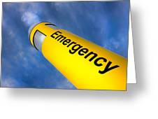Emergency Greeting Card
