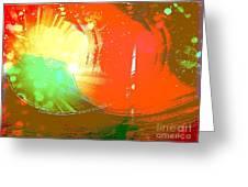 Emergent Sun Greeting Card