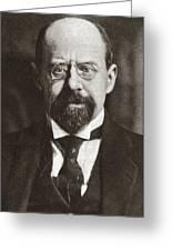 Emile Vandervelde (1866-1938) Greeting Card