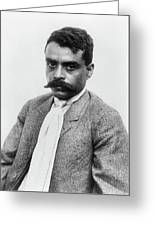 Emiliano Zapata (1879-1919) Greeting Card