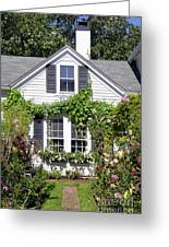 Emily Post House And Garden Greeting Card