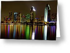 Eminent Echoes Of San Diego Greeting Card by Ryan Weddle