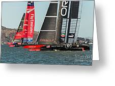 Emirates And Oracle Greeting Card