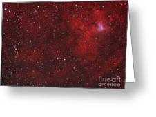 Emission Nebula IIn Perseus Greeting Card