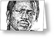 Emmanuel Jal Greeting Card