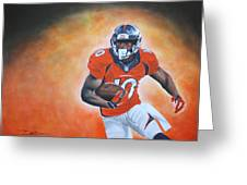 Emmanuel Sanders Greeting Card