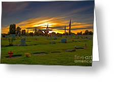 Emmett Cemetery Greeting Card