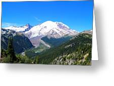 Emmons Glacier Greeting Card
