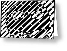 Emoticon So Very Funny Maze  Greeting Card