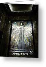 Empire Art Deco Greeting Card
