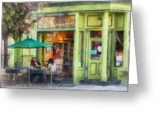 Hoboken Nj - Empire Coffee And Tea Greeting Card
