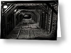 Empire Mine Shaft Greeting Card