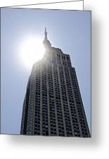 Empire State At Hign Noon Greeting Card