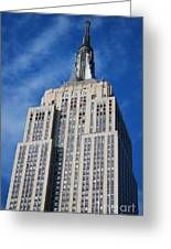 Empire State Building - Nyc Greeting Card