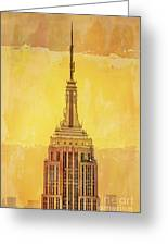 Empire State Building 4 Greeting Card