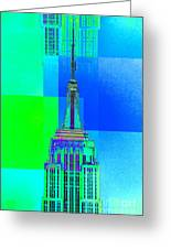 Empire State Building 5 Greeting Card
