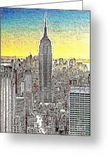 Empire State Building New York City 20130425 Greeting Card