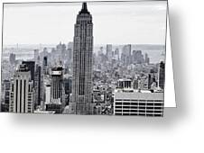 Empire State Greeting Card by CD Kirven