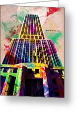 Empire State Greeting Card by Gary Grayson