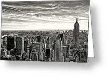 Empire State Of Mind Greeting Card