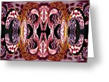 Empress Abstract Greeting Card