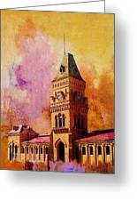 Empress Market Greeting Card