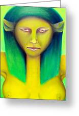 Empress Greeting Card by Roger Williamson
